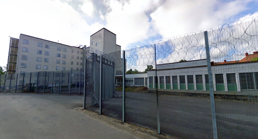Das Gefängnis Västervik Norra