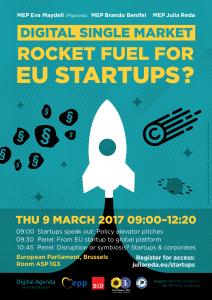 Rocket Fuel for EU Startups?